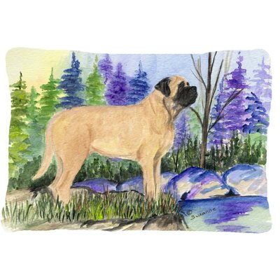 Mastiff Indoor/Outdoor Throw Pillow