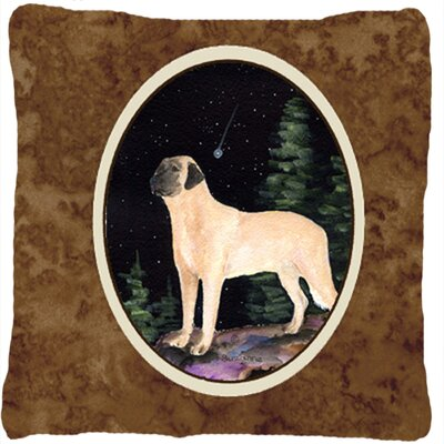 Starry Night Anatolian Shepherd Indoor/Outdoor Throw Pillow