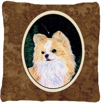 Starry Night Chihuahua Indoor/Outdoor Throw Pillow