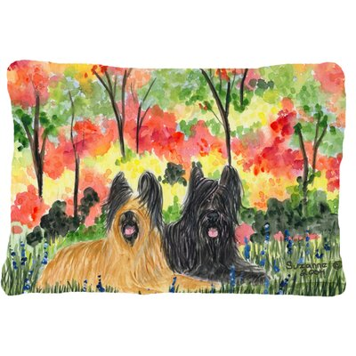Briard Rectangular Indoor/Outdoor Throw Pillow