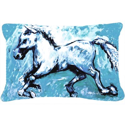 Rectangular The Horse Indoor/Outdoor Throw Pillow