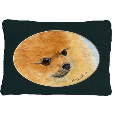 Pomeranian Rectangular Indoor/Outdoor Throw Pillow