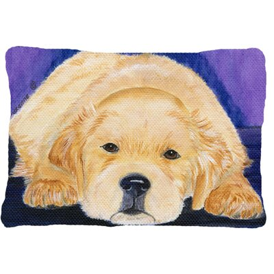 Golden Retriever Indoor/Outdoor Throw Pillow