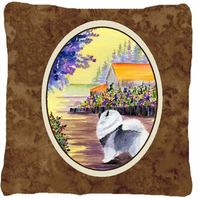Janesville Square Brown Indoor/Outdoor Throw Pillow