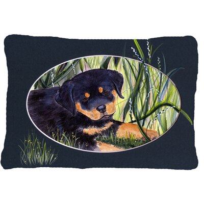 Rottweiler Rectangular Indoor/Outdoor Throw Pillow