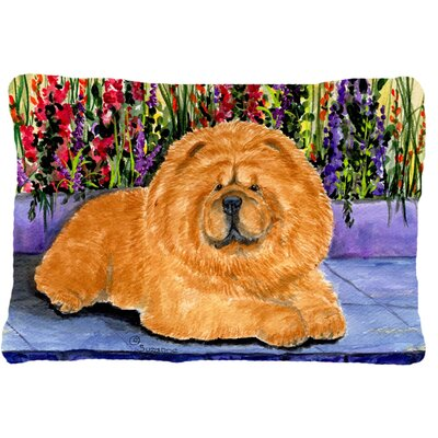 Chow Chow Graphic Print Rectangular Indoor/Outdoor Throw Pillow