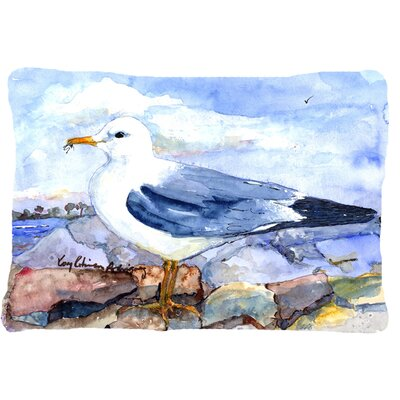 Thayers Gull Indoor/Outdoor Throw Pillow