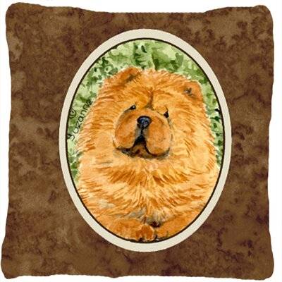 Chow Chow Indoor/Outdoor Square Throw Pillow