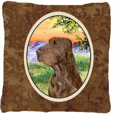 Field Spaniel Indoor/Outdoor Throw Pillow
