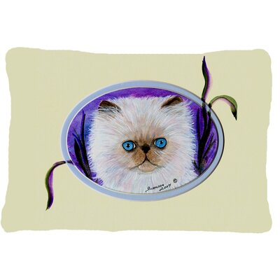 Cat Indoor/Outdoor Throw Pillow