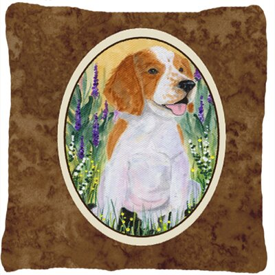 Welsh Springer Spaniel Indoor/Outdoor Throw Pillow
