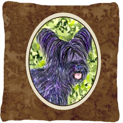 Skye Terrier Indoor/Outdoor Throw Pillow