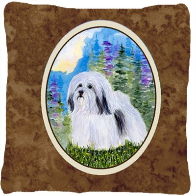 Havanese Indoor/Outdoor Throw Pillow