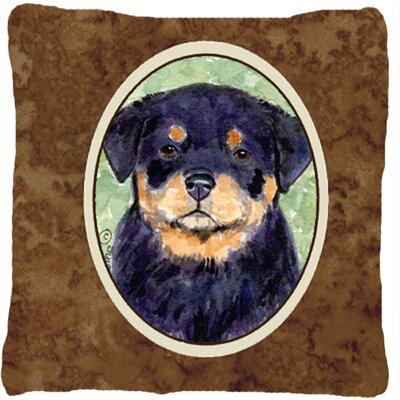 Rottweiler Modern Square Indoor/Outdoor Throw Pillow