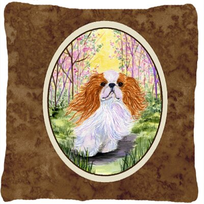 English Toy Spaniel Indoor/Outdoor Throw Pillow SS8613PW1414