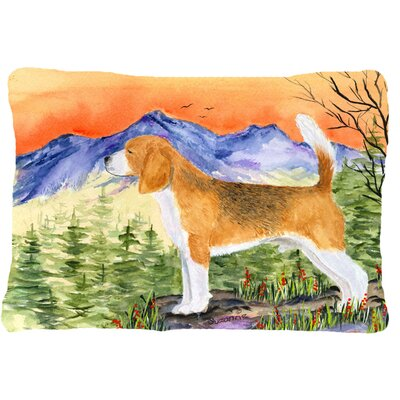 Beagle Rectangular Indoor/Outdoor Throw Pillow
