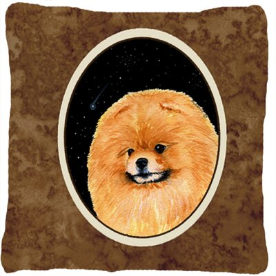 Starry Night Pomeranian Indoor/Outdoor Throw Pillow