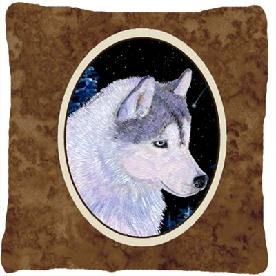 Siberian Husky Indoor/Outdoor Throw Pillow