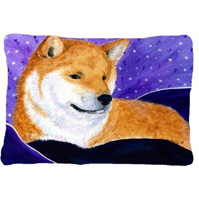 Shiba Inu Indoor/Outdoor Throw Pillow