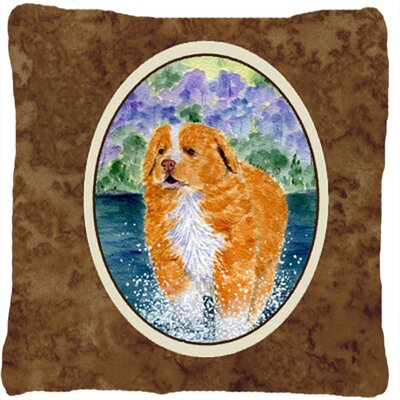 Nova Scotia Duck Toller Indoor/Outdoor Throw Pillow