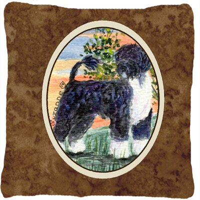 Portuguese Water Dog Indoor/Outdoor Throw Pillow