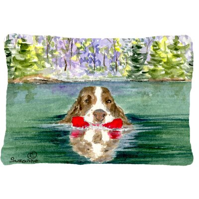 Springer Spaniel Indoor/Outdoor Throw Pillow
