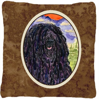 Puli Indoor/Outdoor Throw Pillow