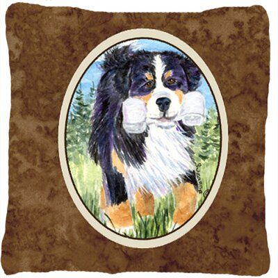 Water Resistant Dog Indoor/Outdoor Throw Pillow