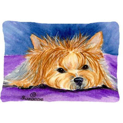 Yorkie Indoor/Outdoor Throw Pillow