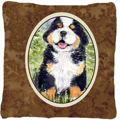 Removable Dog Indoor/Outdoor Throw Pillow