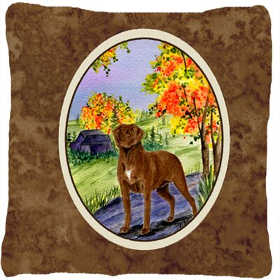 Chesapeake Bay Retriever Indoor/Outdoor Throw Pillow