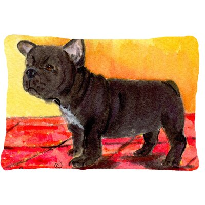 French Bulldog Indoor/Outdoor Throw Pillow