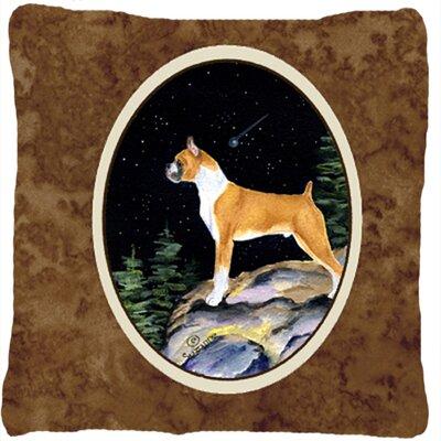Starry Night Boxer Indoor/Outdoor Throw Pillow