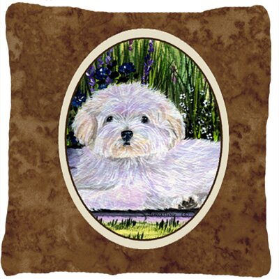 Coton De Tulear Indoor/Outdoor Throw Pillow