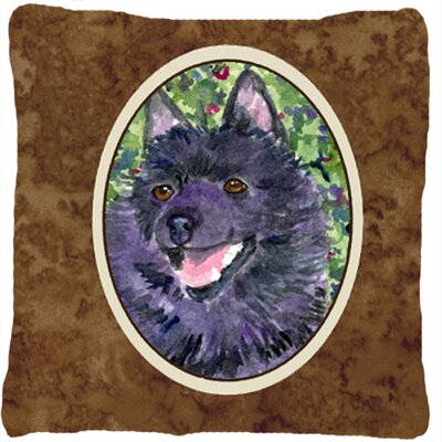 Schipperke Indoor/Outdoor Throw Pillow