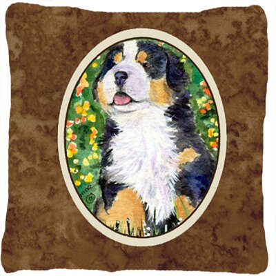 Modern Dog Square Indoor/Outdoor Throw Pillow
