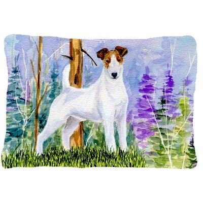 Jack Russell Terrier Indoor/Outdoor Throw Pillow