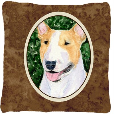 Bull Terrier Indoor/Outdoor Square Throw Pillow