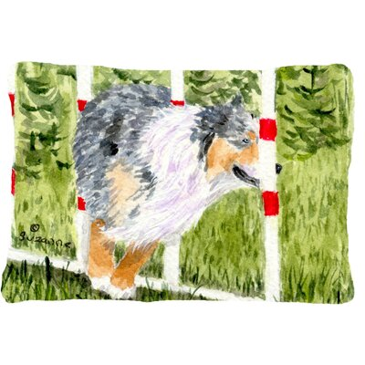 Australian Shepherd Rectangular Indoor/Outdoor Throw Pillow
