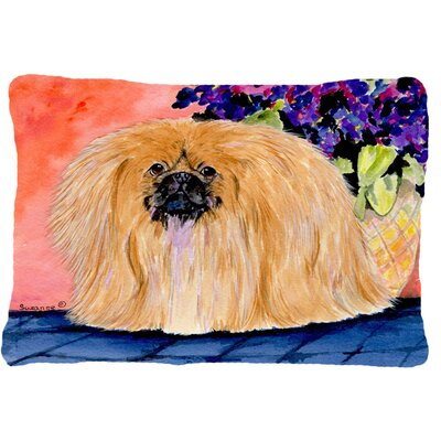 Pekingese Indoor/Outdoor Throw Pillow