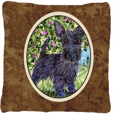 Scottish Terrier Indoor/Outdoor Square Throw Pillow