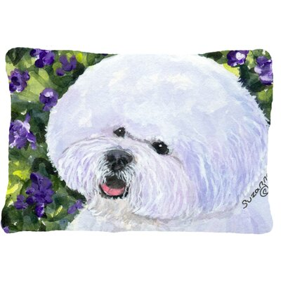 Bichon Frise Rectangular Indoor/Outdoor Throw Pillow