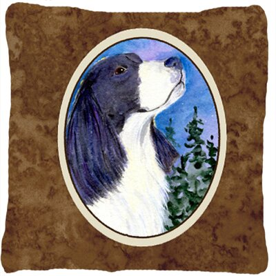 English Springer Spaniel Indoor/Outdoor Throw Pillow