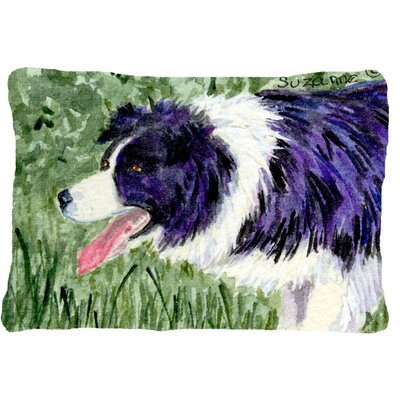 Border Collie Rectangular Indoor/Outdoor Throw Pillow