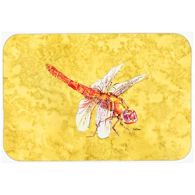 Dragonfly Yellow Glass Cutting Board EAAS6564 40003576