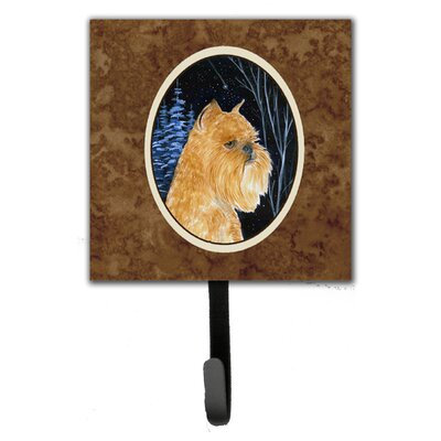 Starry Night Brussels Griffon Leash Holder and Key Hook