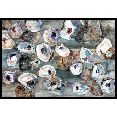 Bunch of Oysters Doormat Mat Size: 2 x 3