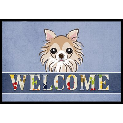 Chihuahua Welcome Doormat Rug Size: 1'6