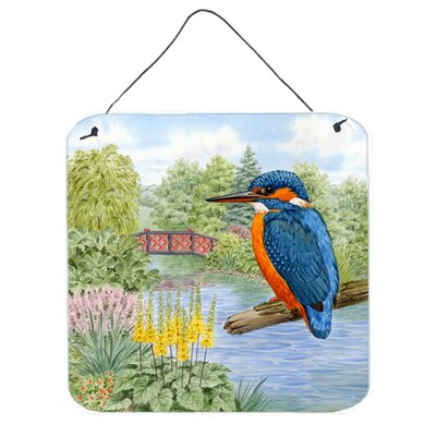 Kingfisher by Sarah Adams Hanging Aluminum Painting Print