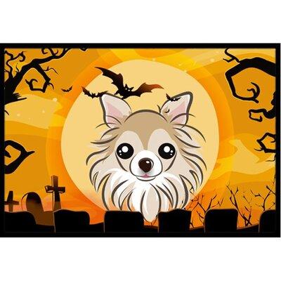 Halloween Chihuahua Doormat Mat Size: 2 x 3